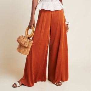 Anthropologie Ultra-Wide Leg Pant NWT